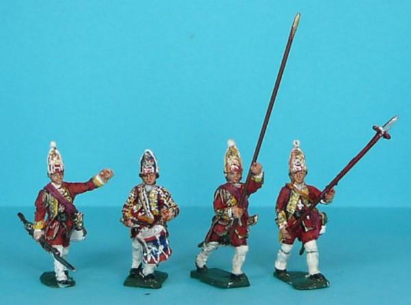 Britische Grenadiere - Command Set