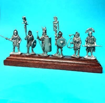 1 - 2 AD: 1. Kohorte - Romische Legionäre - Command Set (Adler)