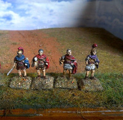 Römisches Feldherren-Set (200 AD - 200 AC)