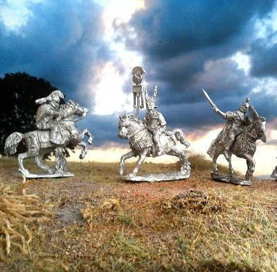 1 - 2 AD: Römische Kavallerie (im Angriff) - Command Set I
