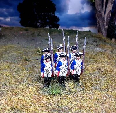 1740 - 1763: Preußische Musketiere