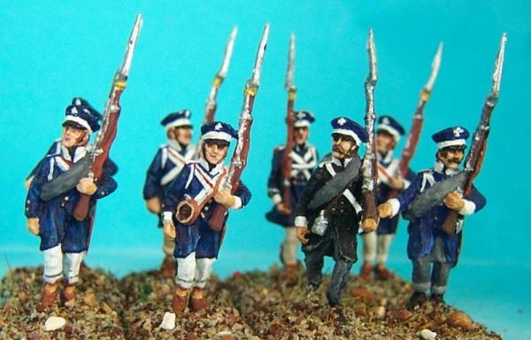 Preußische Landwehr (marschierend)