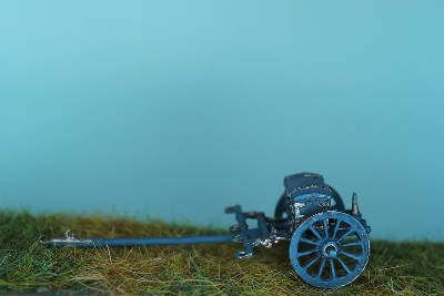 Preußische Protze für die 12-Pfund-Kanone