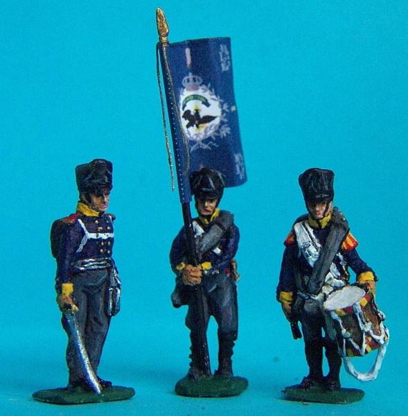 Preußische Linieninfanterie - Command Set (1813 - 1815)