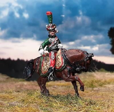 1813 - 1815: Französischer Offizier - Gardes d' Honneur