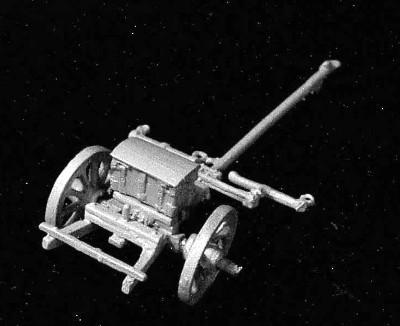 Österreichische Protze für die 6-Pfund-Kanone (1753 - 1815)