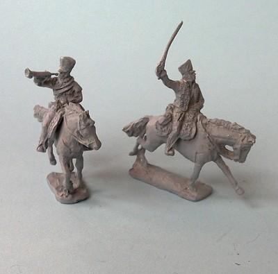 Preußische Husaren im Angriff (1812 - 1815)