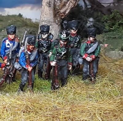 1813 - 1815: Preußische Jäger der Linieninfanterie