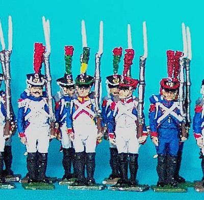 1809 - 1815: Französische Mittlere Garde - Füsilier-Grenadiere
