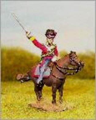 Highland-Offizier zu Pferd (1814 - 1815)