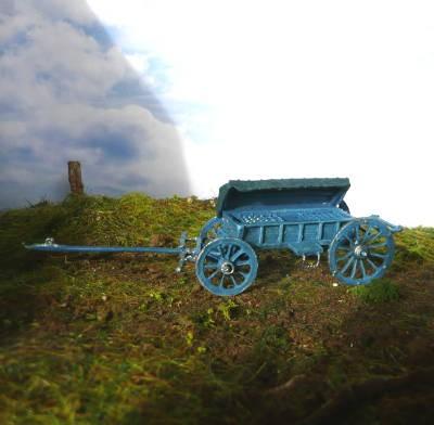 1750 - 1815: Preußischer Granatenwagen