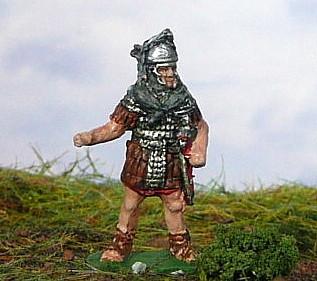 Römischer Signifer mit Schild (1 - 2 AD)
