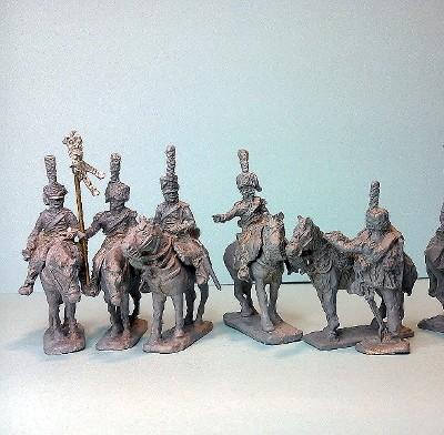 Französische Chasseurs à cheval - Command Set