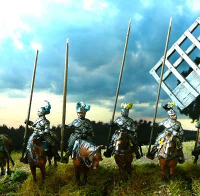 1618 - 1648: Kürassiere (zu Pferd)