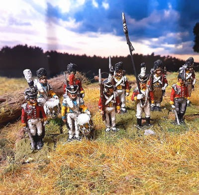 1810 - 1813: Königreich Sachsen - Leib-Grenadier-Garde - Command Set