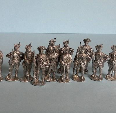 Deutsch-Österreichische Infanterie (1740 - 1763)