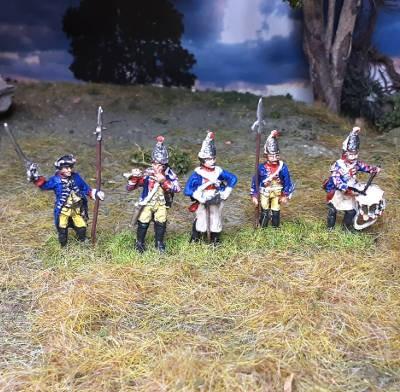 1740 - 1763: Preußische Grenadiere - Command Set