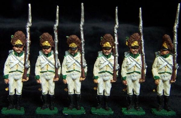 Österreich - Grenadiere der Deutschen Infanterie (1805 - 1815)
