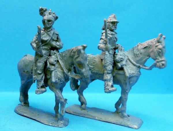1618 - 1648: Kürassiere (mit Pistolen)