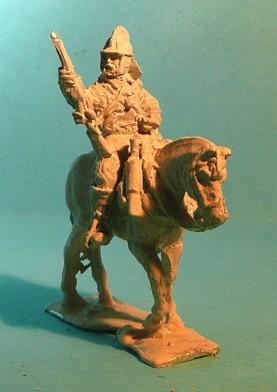 Arkebusier zu Pferd (1618 bis 1648)