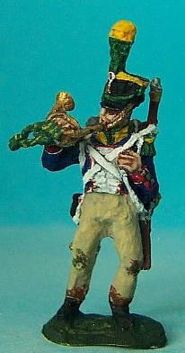 Französischer Voltigeur - Hornist (1812 - 1815)