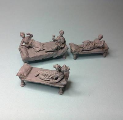 Römisches Gelage (römische Antike)
