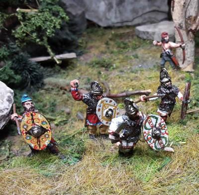 1 - 2 AD: Dakische Kriegshorden (im Angriff)