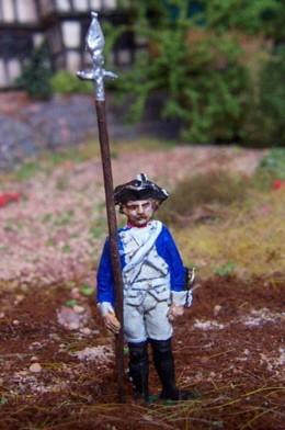 Preußischer Unteroffizier (mit Sponton)