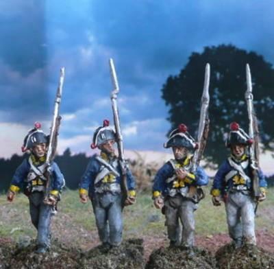 28 mm - Preußen - Mannschaft (1806)