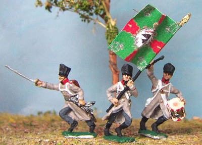 1813 - 1815: Preußische Linieninfanterie - Command Set