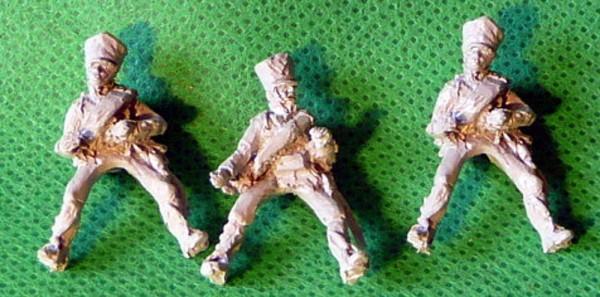 Preußische Fußartillerie als Reiter auf den Handpferden (1813 - 1815)