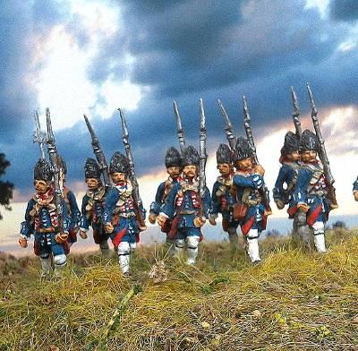 Französische Linieninfanterie - Grenadiere (1740 - 1763)