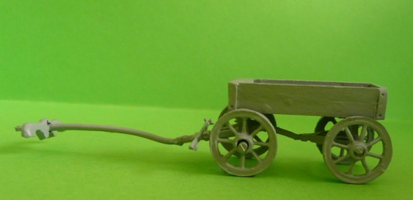Kleiner römischer Bagagewagen