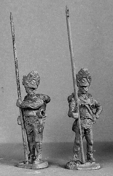 Österreichische-Ungarische Grenadiere - Fahnenträger (1805 - 1815)