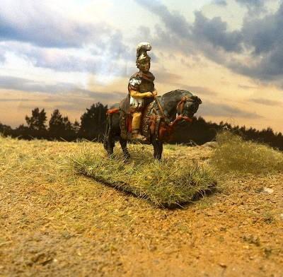 Römischer Legat zu Pferd (2 AD)