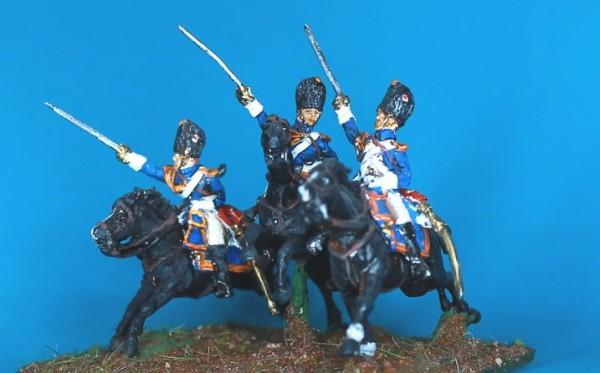 Französische Reitende Grenadiere der Garde - Mannschaft (1804 - 1814)