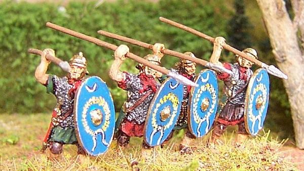 1 - 2 AD: Römische Auxiliar-Infanteristen