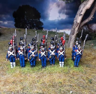1811 - 1815: Französische Pioniere der Alten Garde