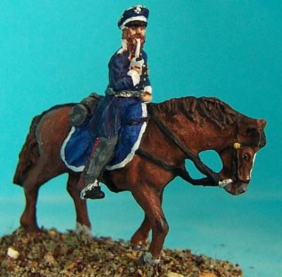 Preußischer Landwehr-Offizier zu Pferd (1813 - 1815)