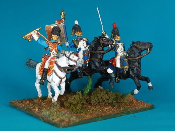 Französische reitende Grenadiere der Garde - Command Set (1804 - 1814)