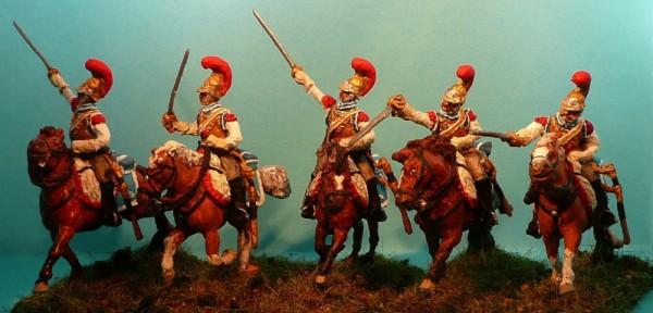 Französische Karabiniers - Mannschaften (1812 - 1815)
