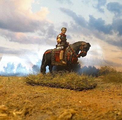 Römischer Lagerpräfekt zu Pferd (2 AD)
