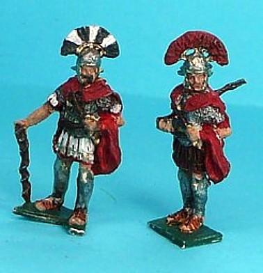 1 - 2 AD: Römische Centurionen (abwartend)
