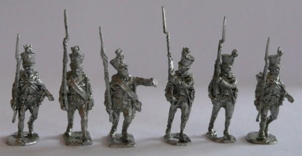 Österreichische-Ungarische Füsiliere - Unteroffiziere (1806 - 1815)