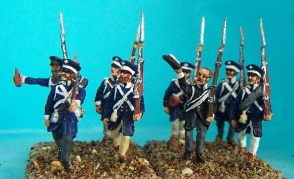 Preußische Landwehr (marschierend, jubilierend)