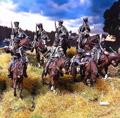 1813 - 1815: Preußische Husaren inkl. Kommando Set