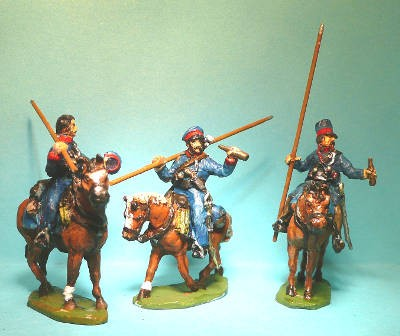 1812 - 1814: Russische Kosaken