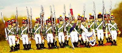 Französische Junge Garde - Flanqueur-Grenadiers