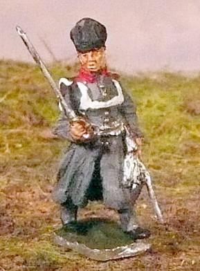 Preußischer Offizier im Mantel (1813 - 1815)