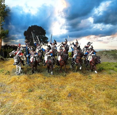 1806 - 1815: Französische Kürassiere inkl. Kommando-Set